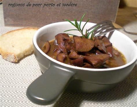 cuisiner des rognons de porc rognons de porc sauce au porto