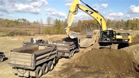 cat  excavator youtube