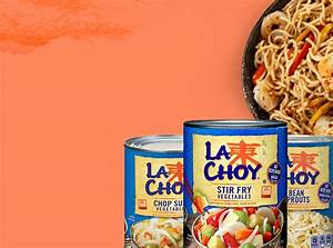 Family Meals Canned Chinese Food And More La Choy