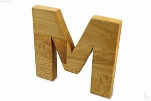 Holz Versiegeln Gegen Wasser : holz buchstabe m nachhaltiges aus sozialen manufakturen ~ Lizthompson.info Haus und Dekorationen