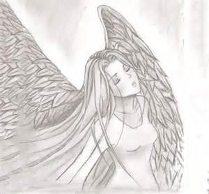 Angel Wings Drawings Sketches