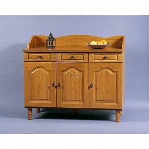 Meuble Buffet Cuisine : buffet bas de cuisine bc14 meubles elmo ~ Teatrodelosmanantiales.com Idées de Décoration