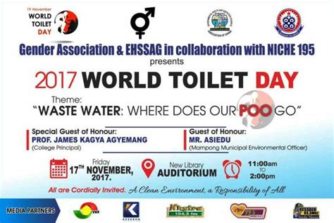 event world toilet day celebration poo