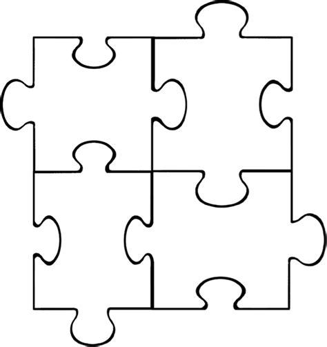 Puzzle Template Puzzle Pieces Template Template Business