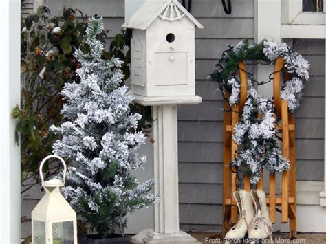 Winter Decorating : Winter Decorating Ideas For Your Porch