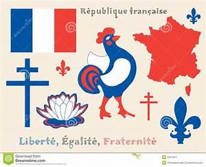 Symbols Of French Republic Stock Image - Image: 34573071