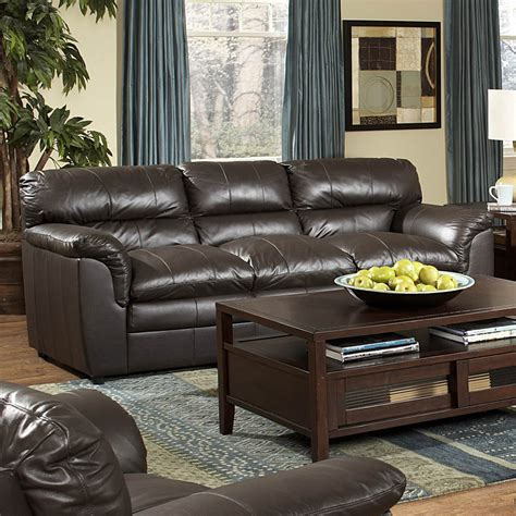 Weston All Leather Living Room Set