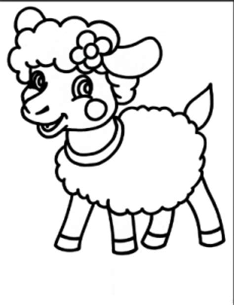 sheep coloring pages for preschool preschool and 183   sheep coloring pages for preschool free coloring pages for kids 230x300