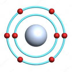 3D Oxygen Atom Model