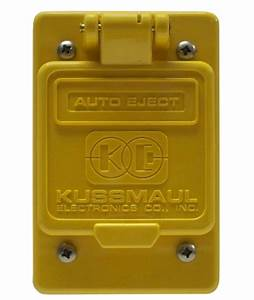 Weatherproof Covers For Wp Auto Ejects Wiring Kits And Manual Receptacles