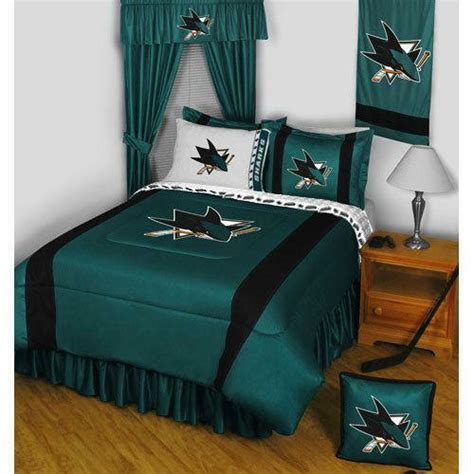 san jose sharks bedding ebay