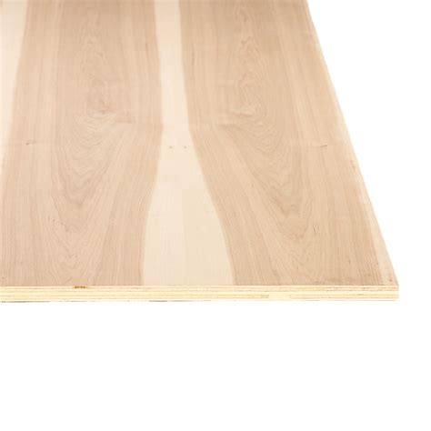 cabinet grade plywood 3 4 quot hickory 4 x8 plywood g2s made in usa