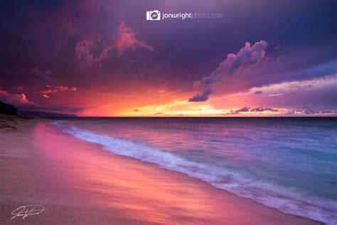Sunset Beach Artwork And Photography Gallery Jon Wright