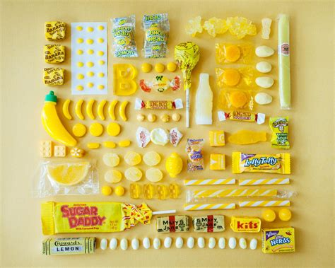 emily blincoe sweets arranged  colour creative safari