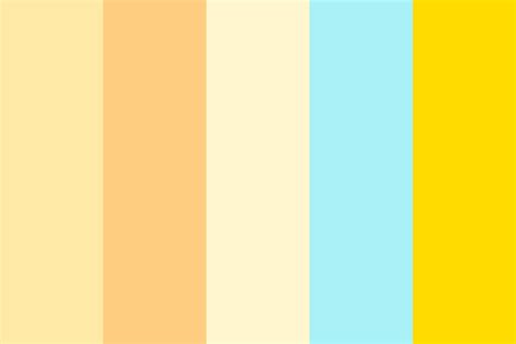 morning colors morning color palette