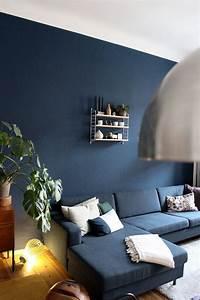 Wohnzimmer, Streichen-, Meine, Neue, Wandfarbe, -, Newniq, Interior, Blog