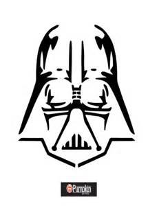 Darth Vader Pumpkin Stencil