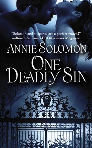 deadly sin  annie solomon reviews discussion bookclubs lists