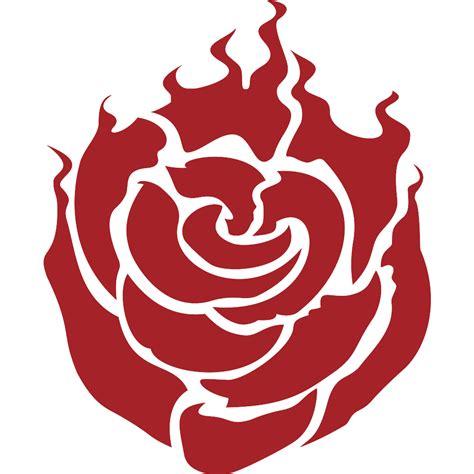 Pokemon Fire Red Wallpaper File Ruby Rose Emblem Svg Rwby Wiki Fandom Powered By Wikia