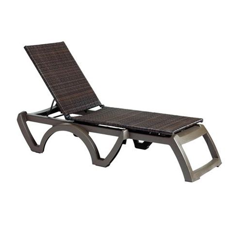 grosfillex chaise lounge chairs grosfillex us645237 java espresso bronze chaise