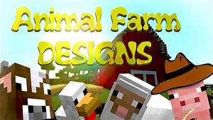 Minecraft Animal Farm Design | www.pixshark.com - Images ...