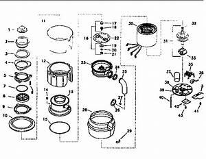 Kenmore Model 175610551 Garbage Disposal Genuine Parts