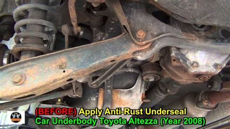 Anti-rust Underseal Toyota Altezza Car Underbody