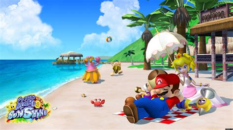 super mario sunshine hd wallpapers background images wallpaper abyss