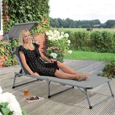 chaise longue avec pare soleil chaise longue bain de soleil avec pare soleil aldi