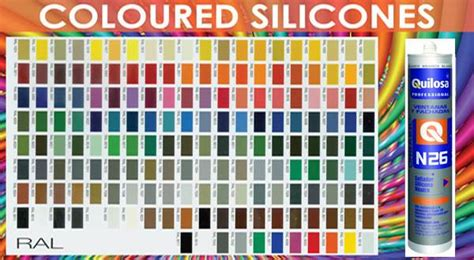 colored silicone caulk a b building products ltd sealants adhesives ral