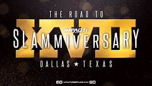 Former WWE Star Backstage At IMPACT Slammiversary XVII