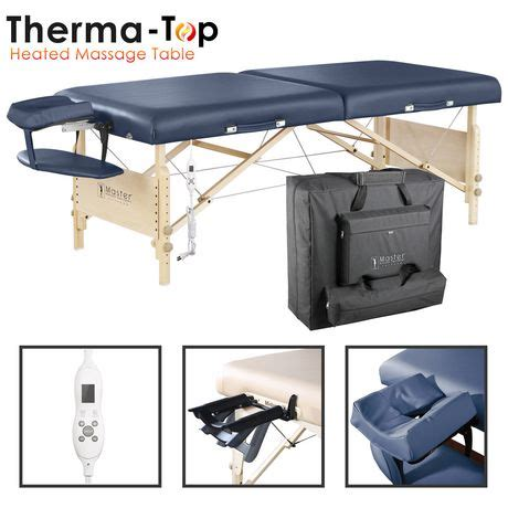 massage table accessories canada aster heated top lx 30 quot portable massage table package