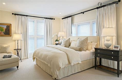 bedroom curtain ideas with blinds home decor