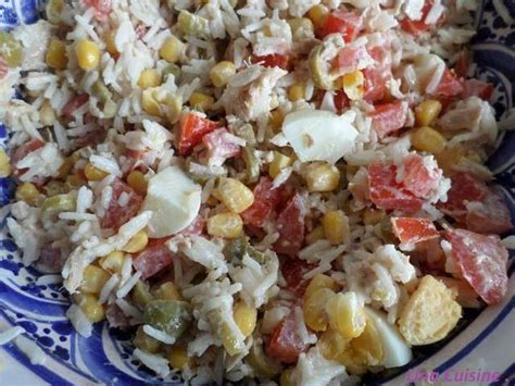 recettes cuisine facile recettes de salade de riz et cuisine facile