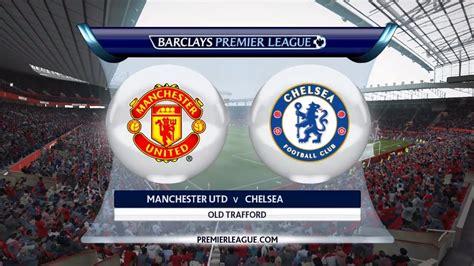 Manchester United vs Chelsea 2015   Stadium Old Trafford ...