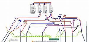 installation lectrique sjour llectricit dans le sjour With disjoncteur salle de bain