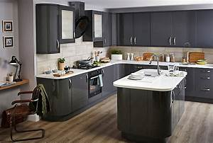 contemporary kitchen design ideas help ideas diy at bq With best brand of paint for kitchen cabinets with metal anchor wall art