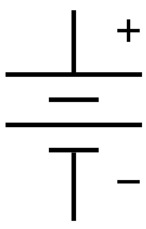 component circuit symbols battery which symbol for a