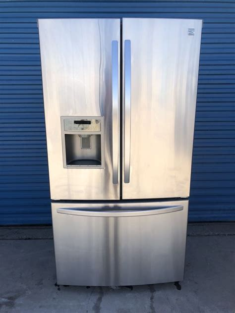 kenmore french door stainless steel refrigerator  day