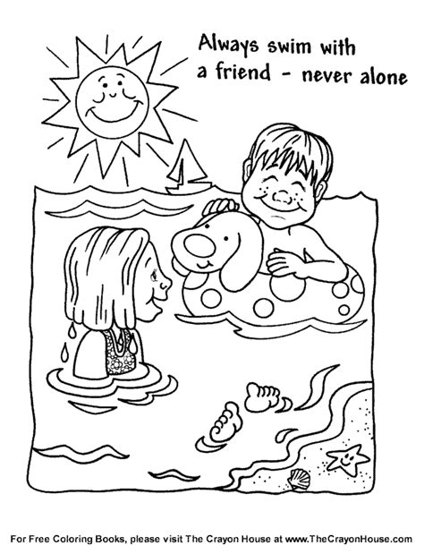 safety coloring pages safety coloring pages to and print for free