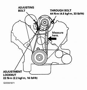 1996 Honda Accord Serpentine Belt Routing And Timing Belt