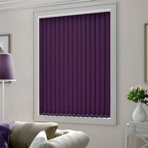 cordoba purple blackout vertical blind