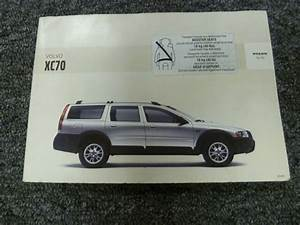 2005 Volvo Xc70 Wagon Owner Owner U0026 39 S Manual User Guide