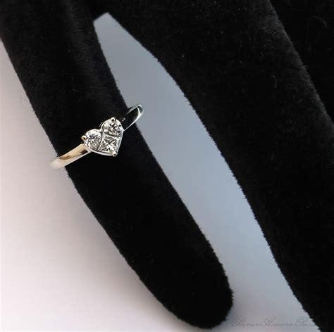 bague fantaisie demande en mariage bagues de fian 231 ailles bague mod 232 le cœur en or blanc et