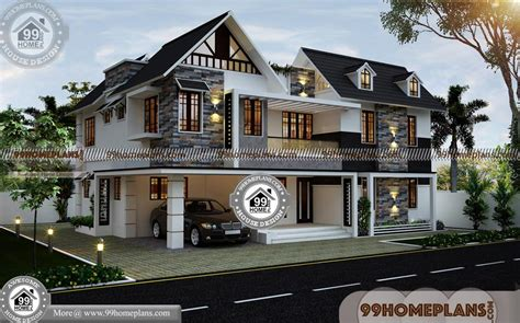 simple  bedroom house plans  double floor traditional modern plan