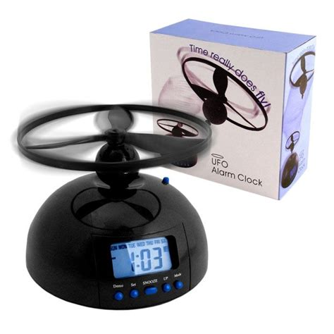 flying alarm clock   ultimate alarm clock      bed   morning