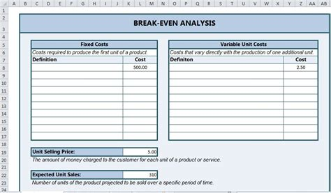 even analysis template even analysis excel even analysis template