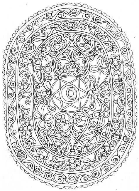 Dessin A Imprimer Mandala Mandal36 Coloring Pages For Adults Coloriage Colorier And Dessin