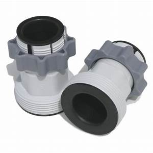 Intex Hose Conversion Adapters For 1500  2100  2500  And Saltwater Pumps