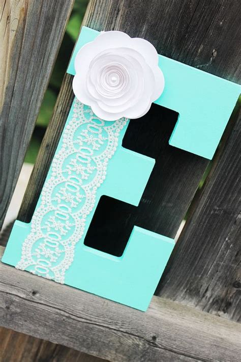 pretty diy decorative letter ideas tutorials